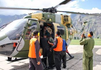 Air Ambulance Dhruv